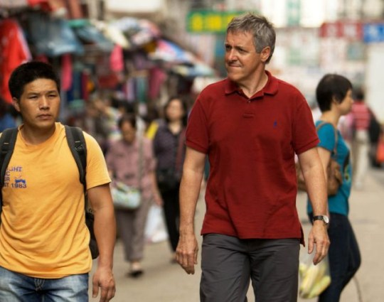 Griff Rhys Jones visits Hong Kong