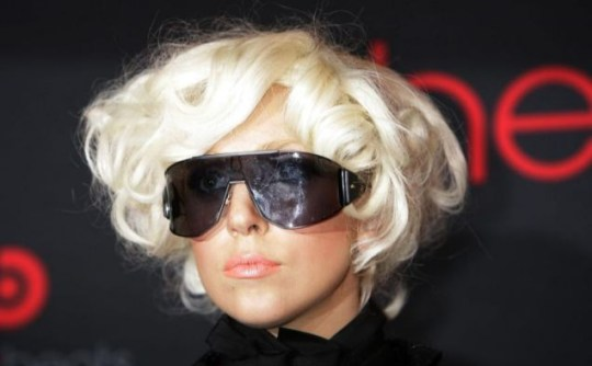 Lady Gaga was loaned knickers by  Rigby and Peller