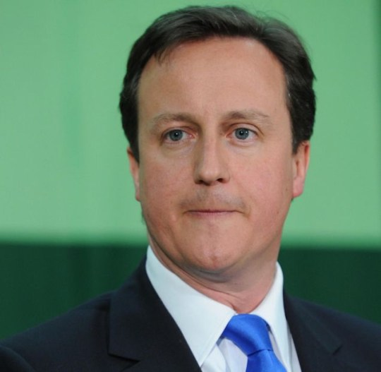 Conservative Party leader David want to work with the Liberal Democrats