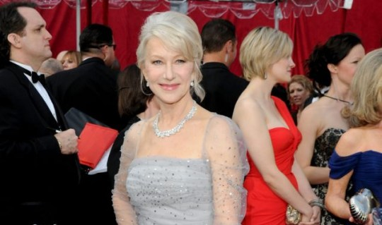 Actress Helen Mirren has made the top 10