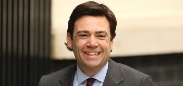 Andy Burnham: will become the fifth contender in the Labour leadership race