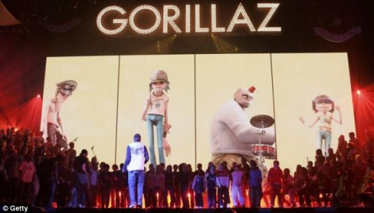 Gorillaz will replace U2 as Glastonbury headliners