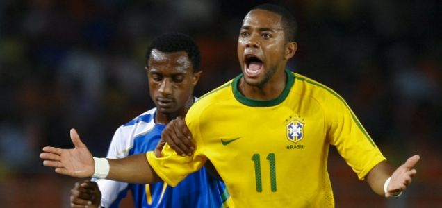 Robinho is looking to move to the Nou Camp this summer
