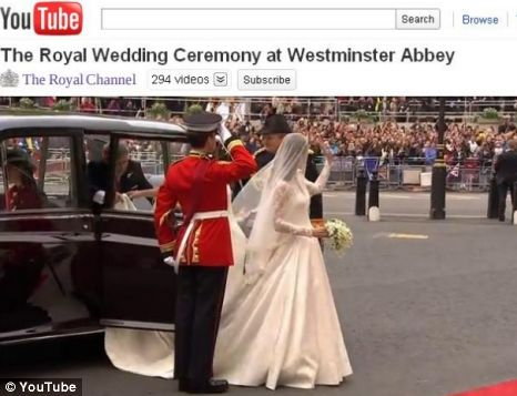 Royal Wedding Youtube.Royal Wedding Live Youtube Stream Watched By 72m Metro News