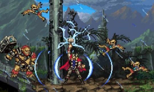 Thor: God Of Thunder (DS) – the graphics are definitely better
