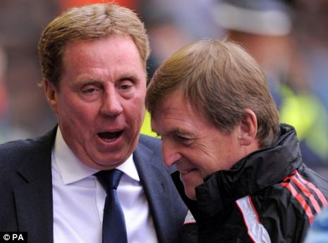 Harry Redknapp and Kenny Dalglish