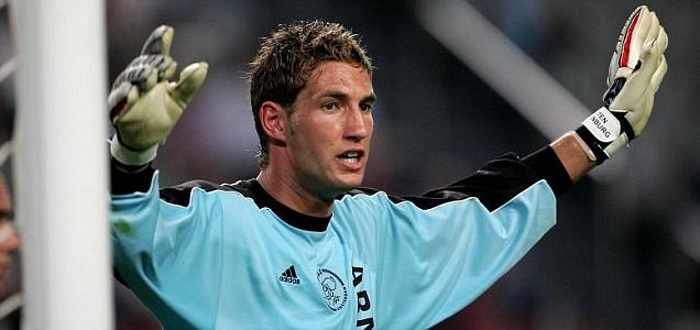 Maarten Stekelenburg of Ajax