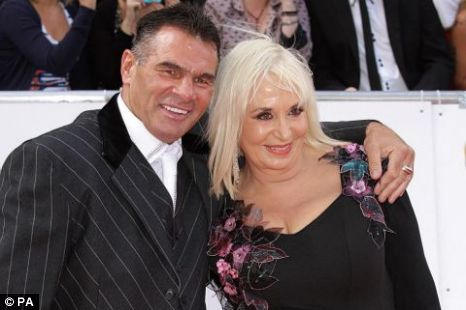 Big Fat Gypsy Weddings Paddy Doherty with dressmaker Thelma Madine