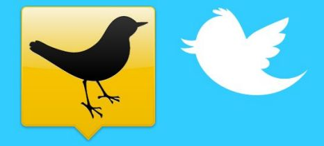 Tweetdeck (left) has reportedly been bought by Twitter (right)