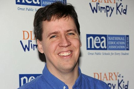 Jeff Kinney author and producer of Diary of a Wimpy Kid