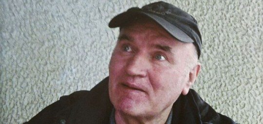 Rejected: Former Bosnian Serb general Ratko Mladic will be sent to the Hague to face war crimes charges (Pic: AP)