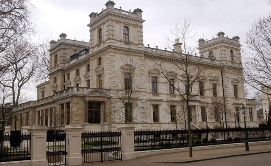Big league: Located on Kensington Palace Gardens is one of the world's most expensive houses owned by Lakshmi Mittal.
