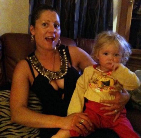 Christine Chambers and her daughter Shania were found shot dead in their house in Braintree (Picture: Eastnews Press Agency)