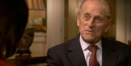 The Duke of Edinburgh interview Fiona Bruce