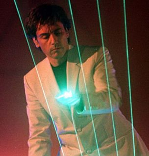 Living flesh that can create laser beams: basically everything Jean Michel Jarre ever dreamed of (Reuters)