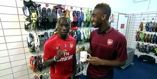 Johan Djourou, Bacary Sagna, Arsenal