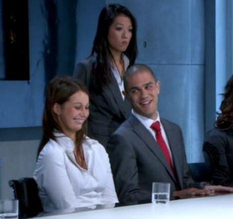 The Apprentice,Edna Agbarha, Zoe Beresford, Glenn Ward