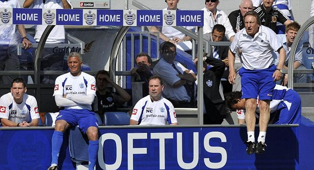 Neil Warnock's QPR face an extremely tough run-in at the end of the 2011/12 Premier League season