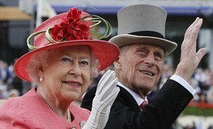 Prince Philip and the Queen Downing St birthday lunch with David and Samantha Cameron