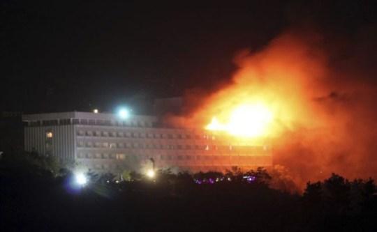 Taliban hotel attack