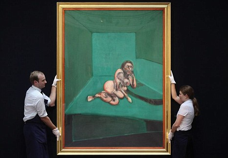 Francis Bacon, Crouching Nude, £8.3million