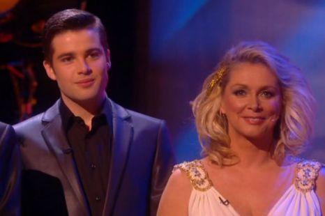 Joe McElderry Cheryl Baker