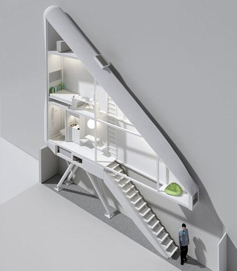World's narrowest house, 60inches, Warsaw, Poland