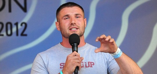 England rugby star Ben Cohen