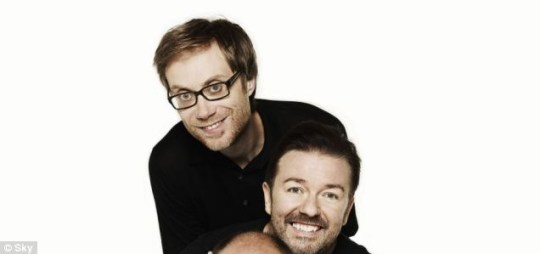 Ricky Gervais and Stephen Merchant have been working on new series Life's Too Short together