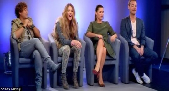 Elle MacPherson and the gang in full, bitchy flow