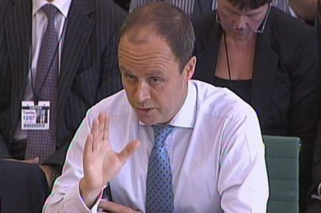 Assistant Commissioner John Yates gives evidence to a Commons Home Affairs Committee