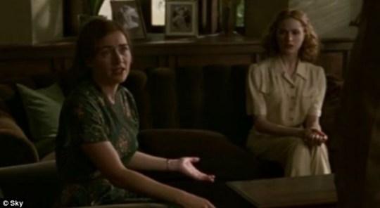 Kate Winslet Evan Rachel Wood Veda Mildred Pierce