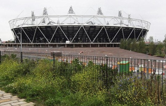 The London Olympic stadium