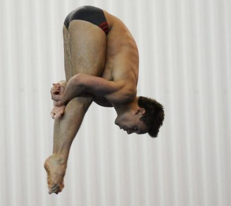Tom Daley world championship Shanghai came in fifth place position london olympics qui bo