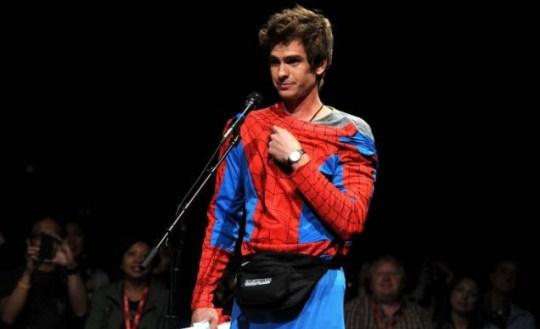 Andrew Garfield, The Amazing Spider-Man, Comic-Con 2011