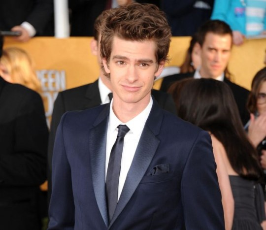Actor Andrew Garfield arrives at the 17th Annual Screen Actors Guild Awards held at The Shrine Auditorium on January 30, 2011 in Los Angeles, California.  (Photo by Jason Merritt/Getty Images)