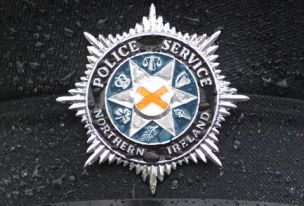 Target: the badge of the Police Service of Northern Ireland (Reuters)