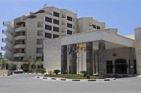 Gaza Strip's first five-star Arcmed Al Mashtal hotel