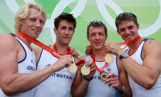 GB coxless four