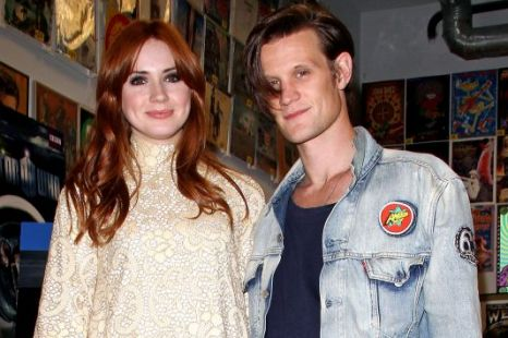 Doctor Who, Matt Smith and Karen Gillan