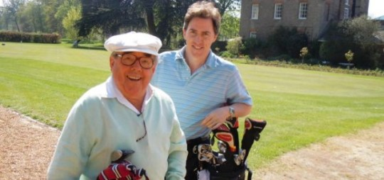 Ronnie Corbett and Rob Brydon play a round of golf for no good reason