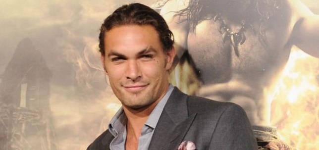 "LOS ANGELES, CA - AUGUST 11: Actor Jason Momoa attends the world premiere of ""Conan The Barbarian"" held at Regal Cinemas L.A. Live on August 11, 2011 in Los Angeles, California. (Photo by Jason Merritt/Getty Images)"