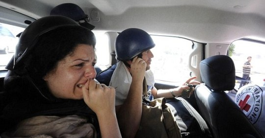 Journalists evacuated from the Rixos hotel in Tripoli