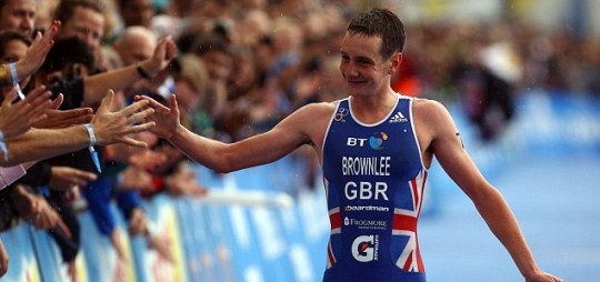 Alistair Brownlee Metro first article triathlon