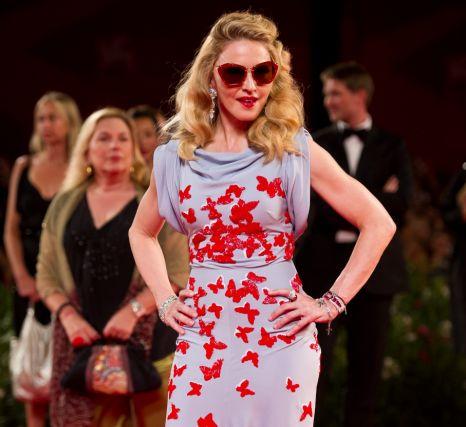 Madonna, W.E. premiere, Venice Film Festival