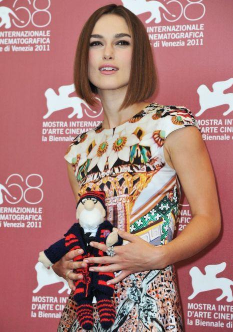 Keira Knightley, Venice Film Festival 2011, A Dangerous Method