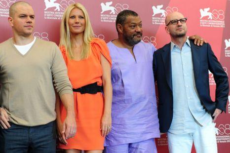Matt Damon, Gwyneth Paltrow, Laurence Fishburne Steven Soderbergh Contagion