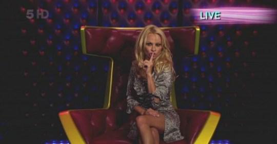 Pamela Anderson Celebrity Big Brother 2011