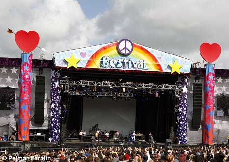A teenager claims she was raped at Bestival 2011