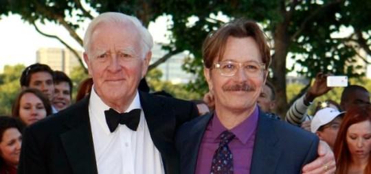 John Le Carre and Gary Oldman